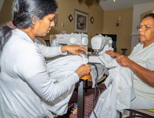Preparing a Robe to the Buddha (September 2019)